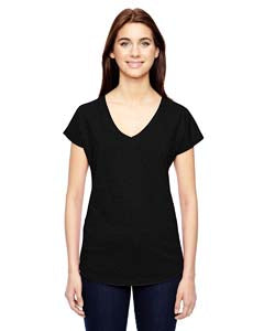Anvil Ladies' Triblend V Neck