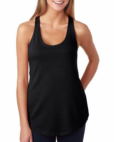 Next Level Ladies' French Terry Racerback Tank