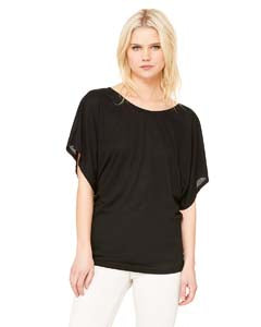 Bella Ladies Flowy Draped Sleeve Dolman