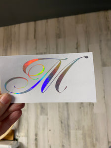 Vinyl Decal Holographic