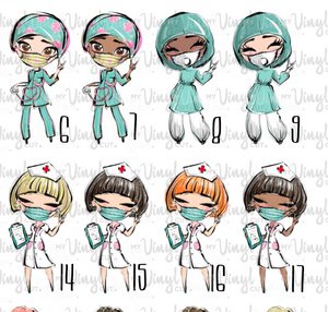 Waterslide Decal MEDIC Hospital Worker Healthcare Professional