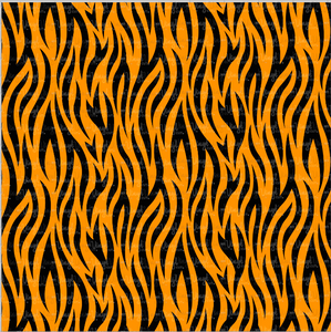 "Printed HTV TIGER STRIPES Pattern Heat Transfer Vinyl 12 x 12"" sheet"