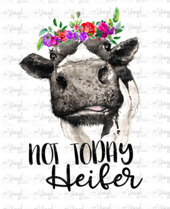 Digital Download Heifer with Flowers