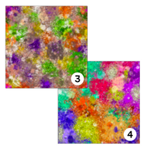 Load image into Gallery viewer, Printed HTV GRUNGE PAINT SPLATTERS 12 x 12 inch sheet