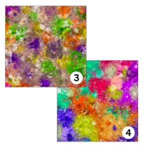 Printed HTV GRUNGE PAINT SPLATTERS 12 x 12 inch sheet