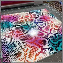 Load image into Gallery viewer, Waterslide Decal Wrap COLORFUL SNAKE SKIN