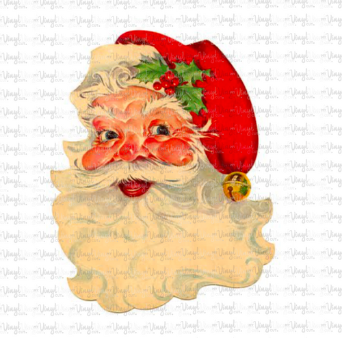 Digital Download Vintage Santa JPG file