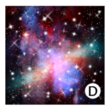 Load image into Gallery viewer, Printed HTV PINK GALAXY Heat Transfer Vinyl 12 x 12 inch sheet