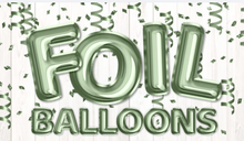 "Load image into Gallery viewer, 23"" Foil Balloon Lettering for Outdoor Lawn Decorations Party Supplies"