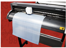 "Load image into Gallery viewer, Stahls' Adhesive Heat Transfer Vinyl HTV 11"" sheets Clear adhesive for foils fabrics"