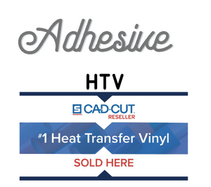 "Stahls' Adhesive Heat Transfer Vinyl HTV 11"" sheets Clear adhesive for foils fabrics"