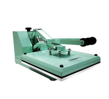 "Load image into Gallery viewer, OUT OF STOCK! StarCraft 15"" x 15"" Clam Shell Heat Press - Mint Green"