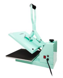 "OUT OF STOCK! StarCraft 15"" x 15"" Clam Shell Heat Press - Mint Green"