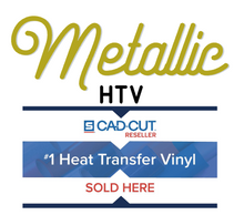 "Load image into Gallery viewer, Stahls' Metallic Heat Transfer Vinyl HTV 12 x 18"" sheets"