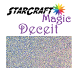 StarCraft Magic Deceit Glitter Adhesive Vinyl 12 x 12