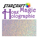 StarCraft Magic Hoax Holographic Adhesive Vinyl 12 x 12