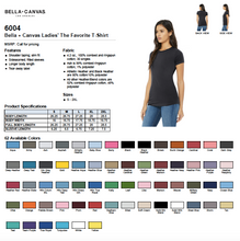 Load image into Gallery viewer, Bella Ladies The Favorite T Shirt