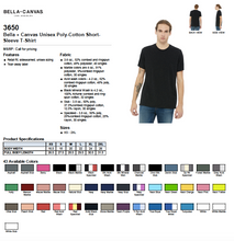 Load image into Gallery viewer, Bella Canvas Poly-Cotton Short Sleeve