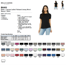 Load image into Gallery viewer, Bella Ladies Triblend Short Sleeve