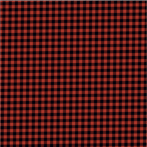 "Printed HTV RED AND BLACK BUFFALO PLAID Pattern Heat Transfer Vinyl 12 x 12"" sheet"