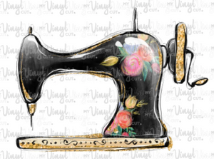 Waterslide Decal Sewing Machine