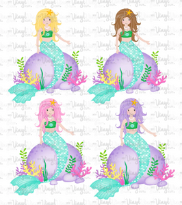 Sticker G11 Mermaids