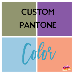 Custom Pantone Color: Printed Vinyl Sheet 12