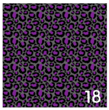 Load image into Gallery viewer, Printed Adhesive Vinyl FUN CHEETAH Pattern Vinyl 12 x 12 inch sheets