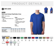 Load image into Gallery viewer, Next Level Unisex Poly/Cotton Crew