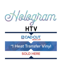 "Load image into Gallery viewer, Stahls' Hologram Heat Transfer Vinyl HTV 12 x 18"" sheets"
