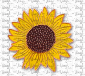 Enamel Pin Sunflower Choose Pin or Magnetic clasp