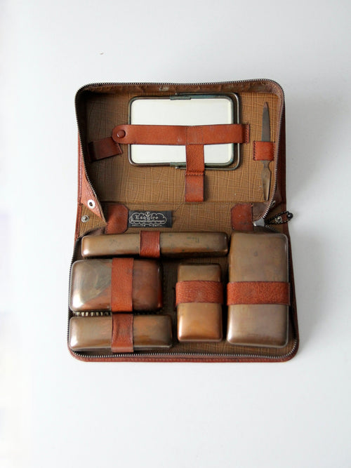 vintage Esquire dopp kit