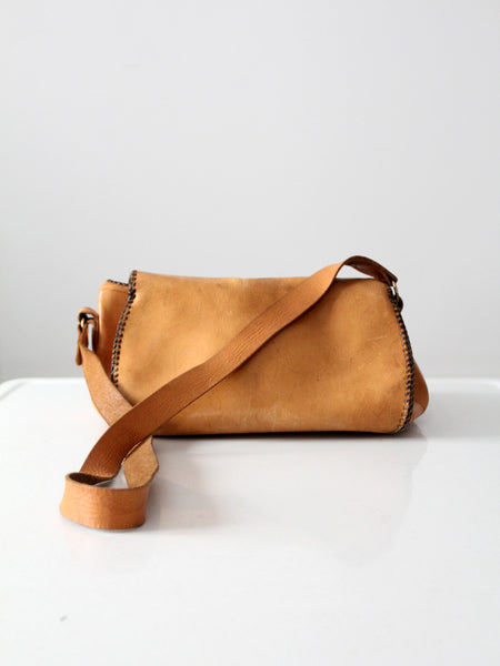 vintage 70s leather bag