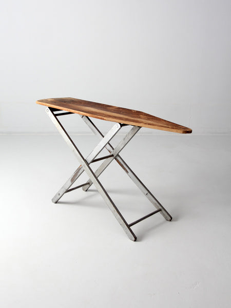 vintage wooden ironing board circa 1930