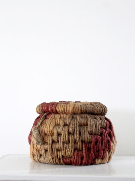 vintage native basket