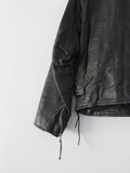 vintage 70s leather motorcycle jacket