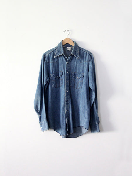 vintage Dickies denim shirt