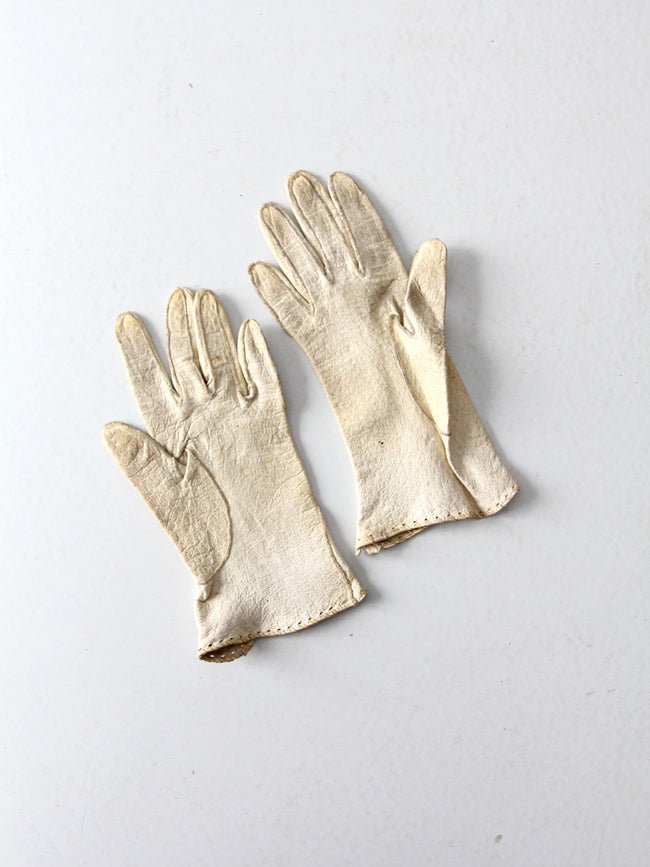 1920s leather gloves