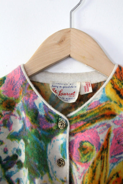 vintage 60s ste. laurent cardigan