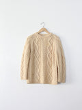 vintage wool sweater