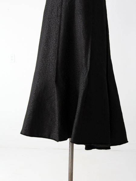 Victorian carriage skirt