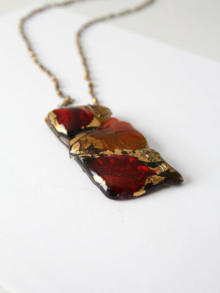 1960s pendant necklace