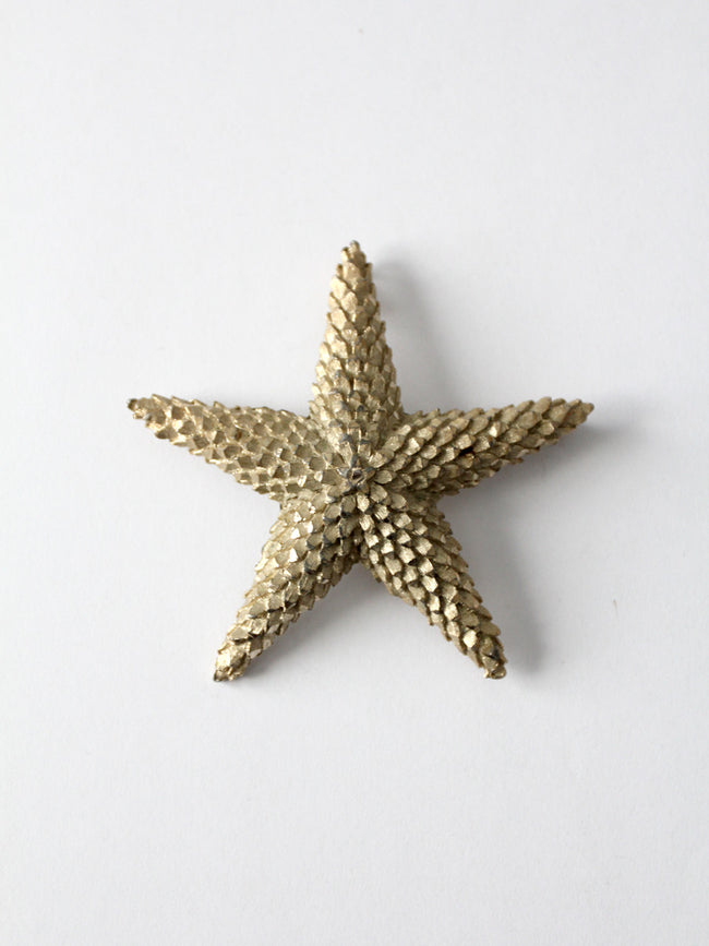vintage 60s star brooch
