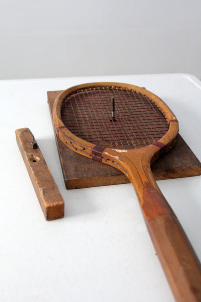 1920s Wright & Ditson Criterion tennis racquet1920s Wright & Ditson Criterion tennis racquet