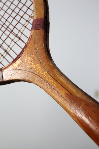 1920s Wright & Ditson Criterion tennis racquet