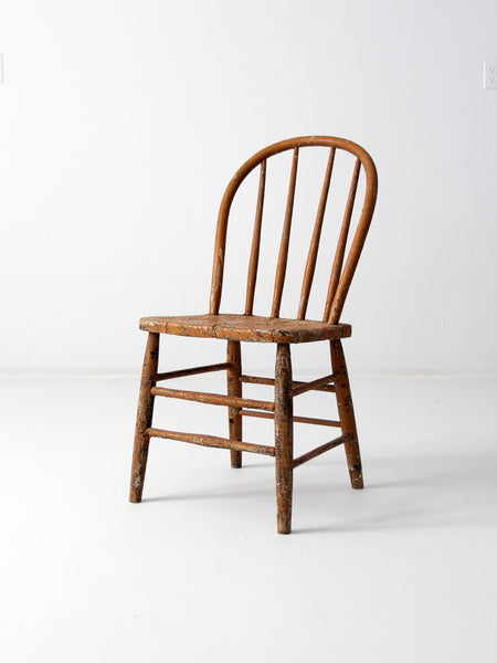 antique fiddle back chair