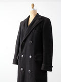 vintage 30s JC Penney Co. men's wool top coat