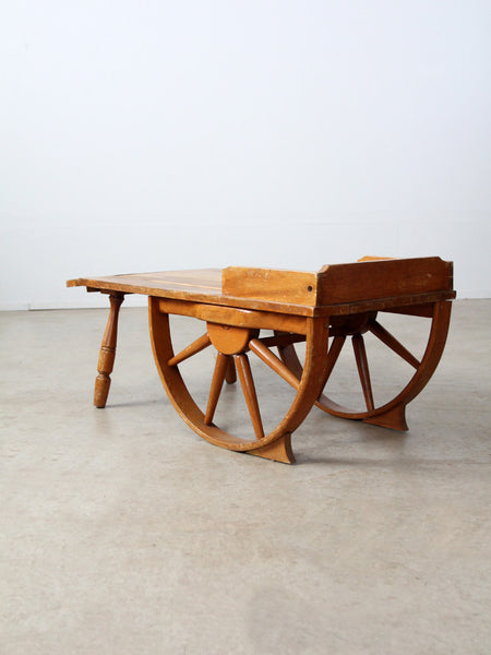 vintage Monterey style ranch table