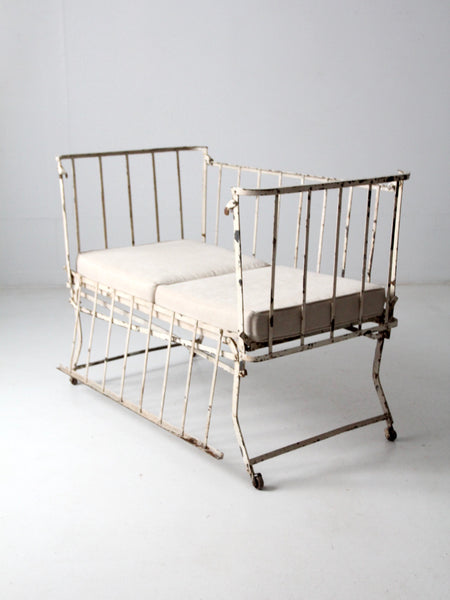 vintage iron daybed