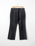 vintage Big E Levi's Sta Prest denim trousers, 38 x 30